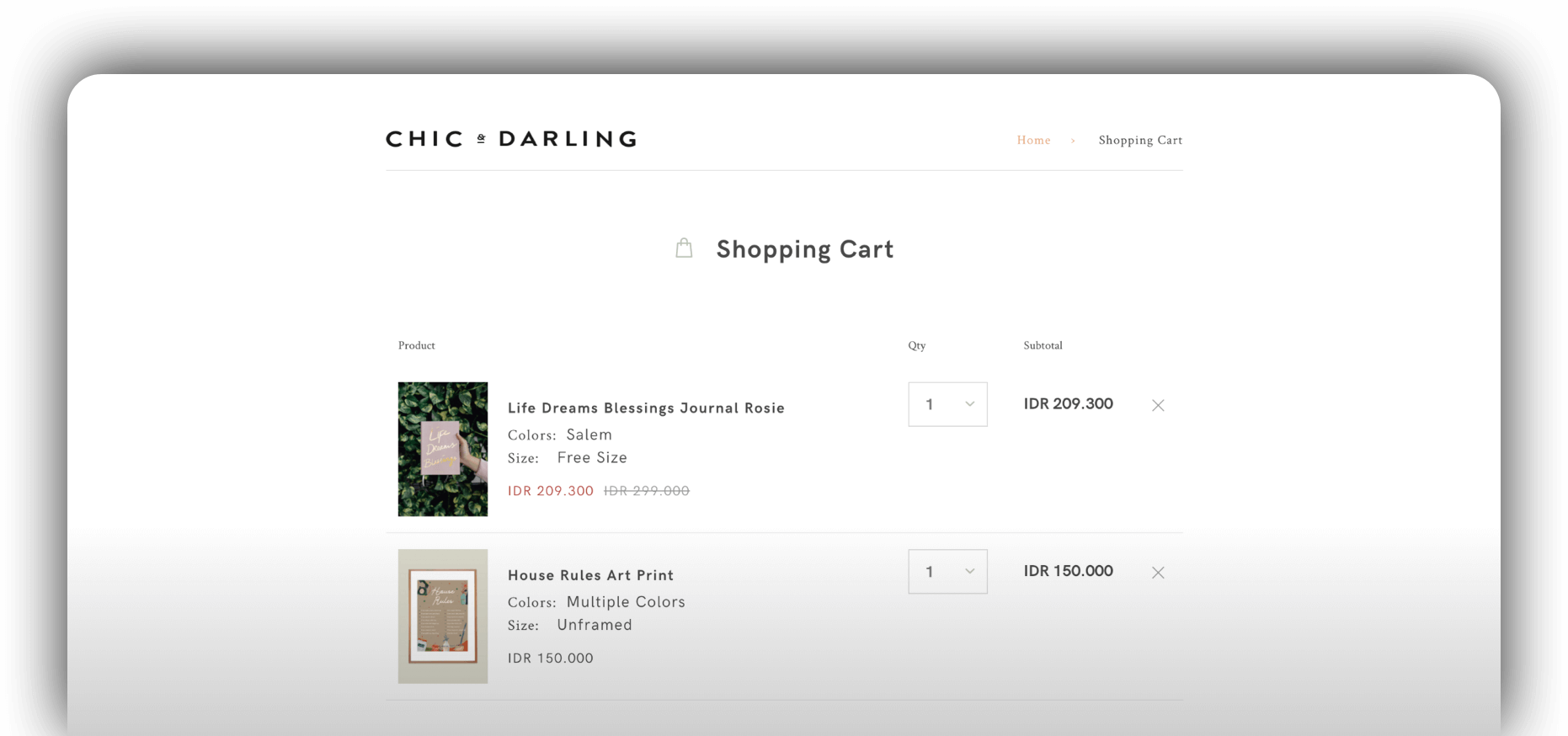 Redesigning E-Store of Chic & Darling for Better Experience